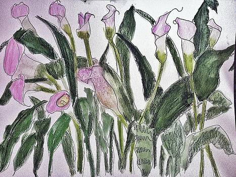 Calla Lilies by Jennifer Woodworth
