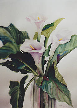 Calla Lily Trio by Eve Riser Roberts