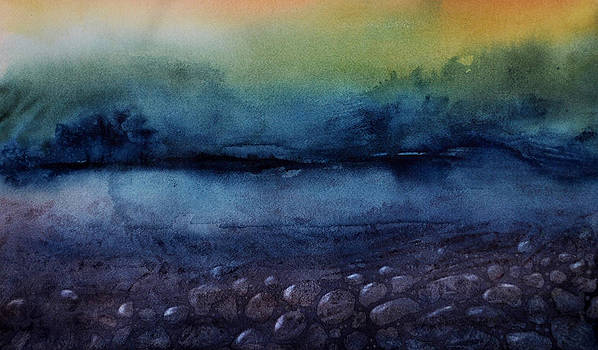 Calm beneath the surface by Laura Shepler
