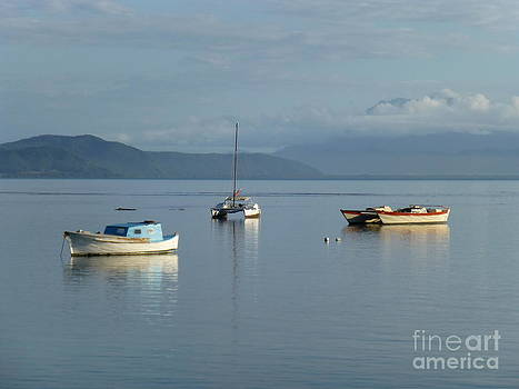 Calm day at Port Douglas by Nadine Kelly