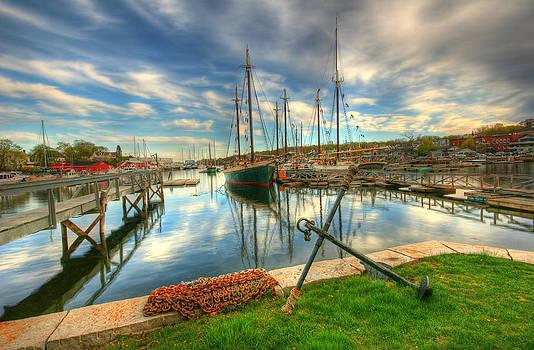 Camden Harbor by Kevin Kratka