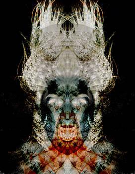 Campfire Head by Bear Welch