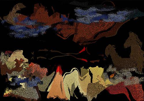 Campfire Nights by Mathilde Vhargon