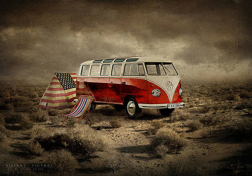Camping by Astrid Rieger