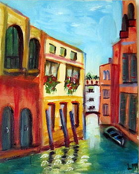 Canal by Lia  Marsman