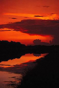 Canal Sunset by Bob Whitt