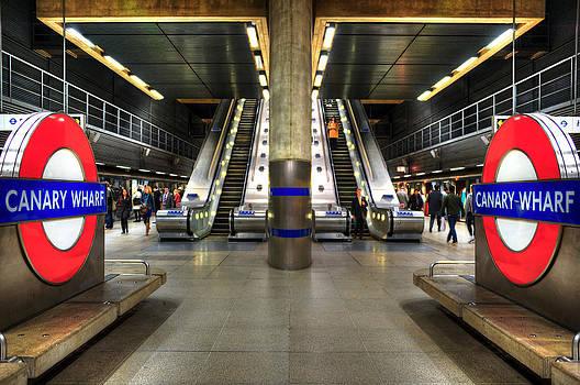Svetlana Sewell - Canary Wharf Station
