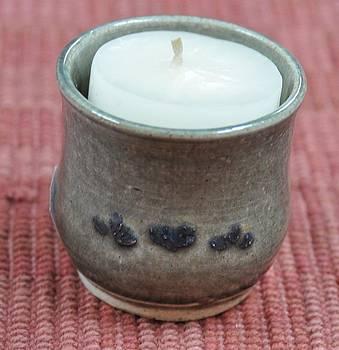 Candle Holder by Carol Miller
