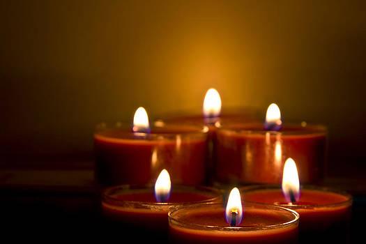 Candle light by Trevor Buchanan