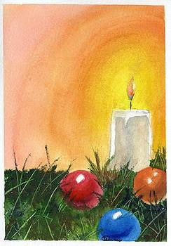 Candle's Glow by Wendy Cunico