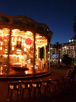 Cannes Carousel by Christine Burdine