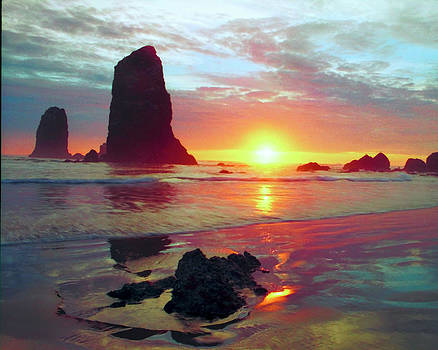 Cannon Beach Oregon by Forrest Ray