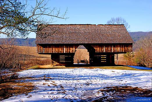 Paul Mashburn - Cantilever Barn