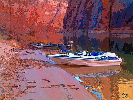 Canyon Boating by Mary M Collins