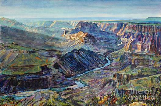 Canyon Light at Watchtower by LeRoy Jesfield
