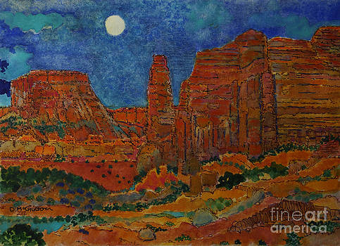 Canyon Moon by Donald McGibbon