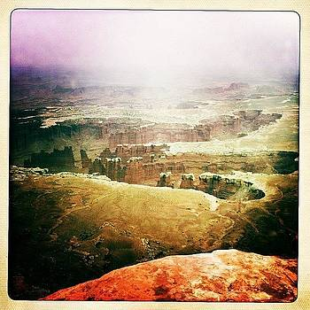 Canyonlands Overview by Felice Willat