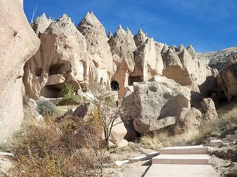 Capadocia Turkey avanos Fairy Chimneys in Cappadocia by Mahmut Taskin