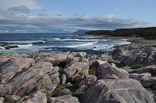 Cape Breton Rocks by Jeff Moose