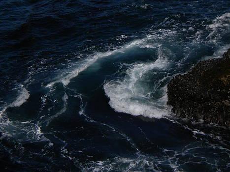 Cape Flattery Wave Action by Wanda Jesfield