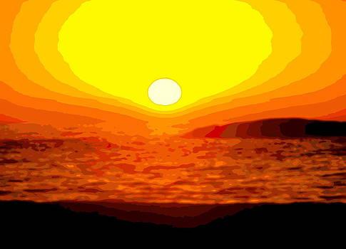 Ramona Johnston - Cape Town Sunset