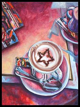Cappuccino in Cortona by Jami Childers