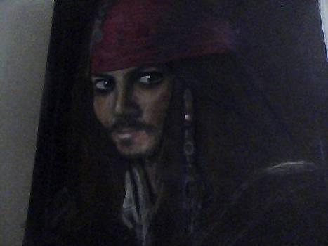 Captain Jack Sparrow by Jasmine Mirzamani