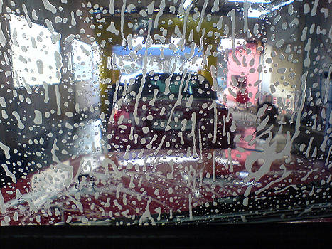 Car wash by Yvan Goudard