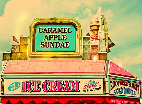 Caramel Apple Sundae Carnival Vendor by Eye Shutter To Think
