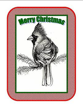 Cardinal Christmas by Carol Allen Anfinsen