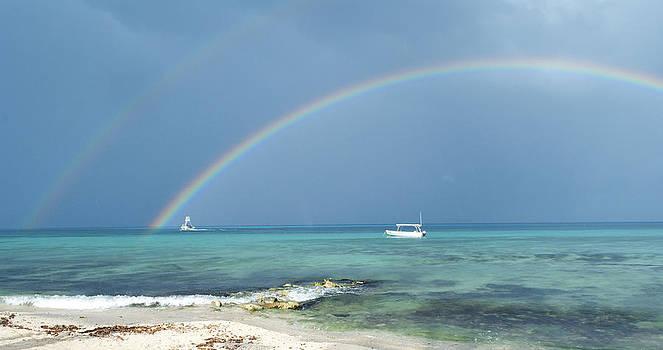 Caribbean Rainbow by Anna Crowder