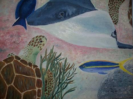 Caribbean Reef Life by Heather Walker