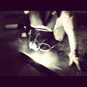 Carl Welding. #steelwork #steel by Charles Dowdy