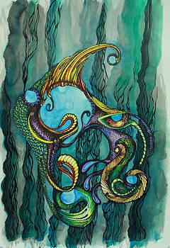 Carnival Fish 2 by Tamra Pfeifle Davisson