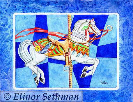 Carousel Horse  by Elinor Sethman
