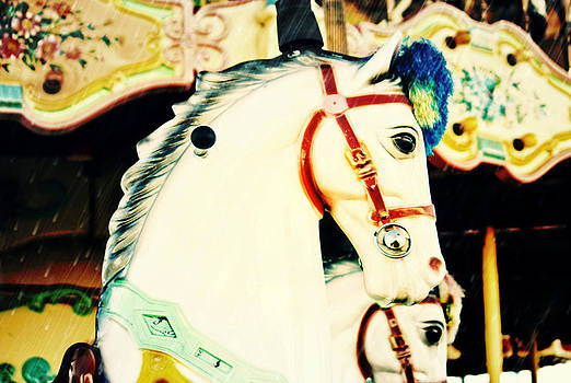 Carousel Horse by Eye Shutter To Think