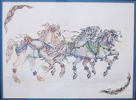 Carousel Parade by Becka Noel