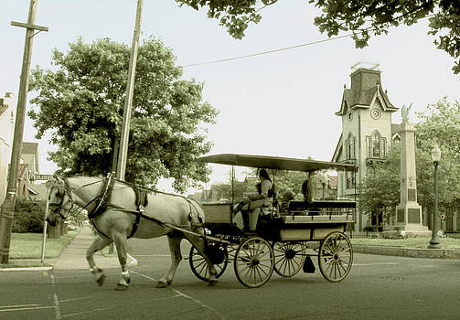 Carriage on Columbia by Mark K