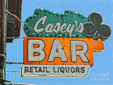 Gregory Dyer - Caseys Bar - Whitefish Montana