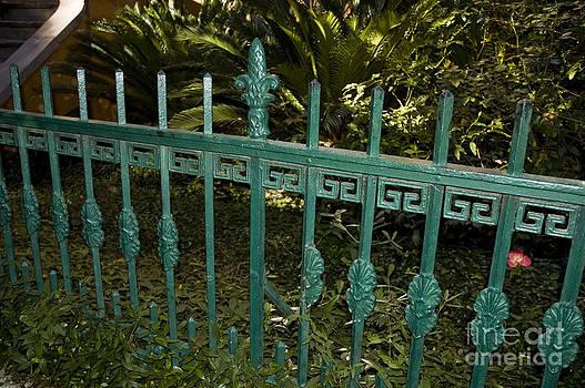 Tim Mulina - Cast Iron Garden Fence
