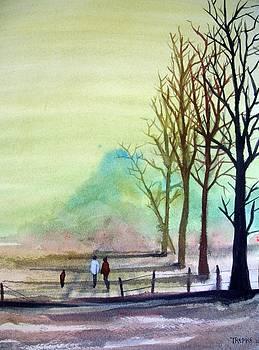 Casting Shadows by Trudy Kepke