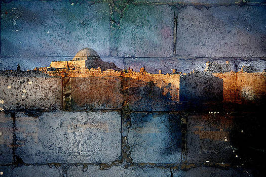 Castle and wall by Adeeb Atwan