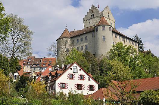 Castle in Meersburg Germany by Matthias Hauser