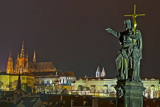 Castle of Prague by Travel Images Worldwide