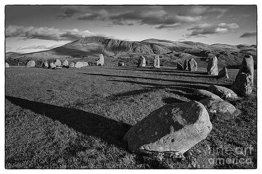 Castlerigg Stone Circle by George Hodlin