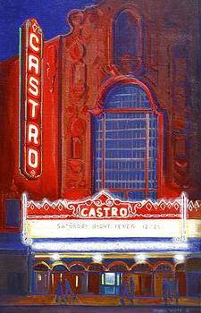 Castro Theater in San Francisco by Virginia White