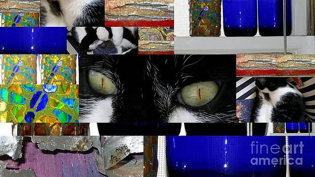 Cat Watching by Leela Arnet