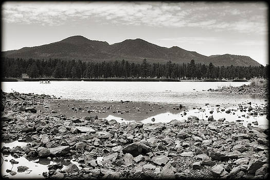 Ricky Barnard - Cataract Lake Black and White
