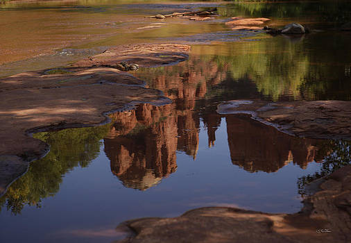 Cathedral Reflection by Skip Thomas