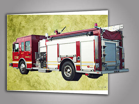 Catoosa Fire Engine 4 by Linda Deal